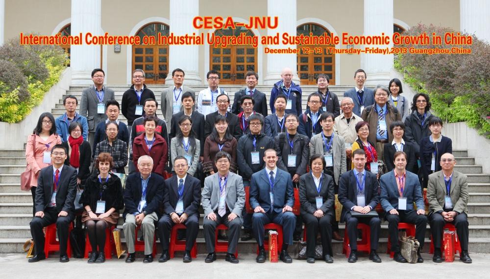 Joint CESA-Jinan University (Guangzhou, China) Conference, December 2013